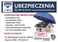 UBEZPIECZENIA OC AC MIESZKANIA DOMY FIRMY / Zatorze - Konin
