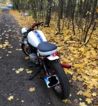 Honda CB 450 bobber, cafe racer, retro
