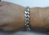 Srebrna bransoleta 78,8 G