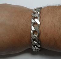 Srebrna bransoleta 56,8 G