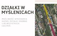 Działki na sprzedaż za Krakowem. Działka w Myślenicach.