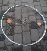 Koło rowerowe przednie 28 cali felga