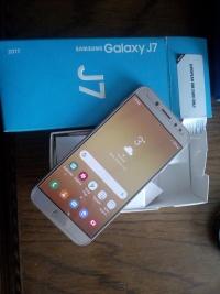 Sprzedam Samsunga Galaxy j7 17 dual SIM LTE NFC ładny zloty