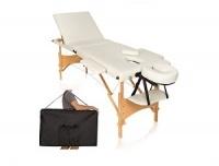 składane, przenośne łóżka do masażu