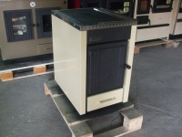 Piec kuchenny - kuchnia węglowa, Kalvis KO-2 N AIR krem