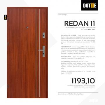 Drzwi wejściowe do mieszkania DOTIIE model REDAN 11