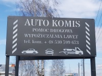 AUTOKOMIS TULISZKÓW UL.ZAREMBY 27 , TEL. 530 709 673