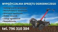Wertykulator Glebogryzarka Walec Wiertnica Siewnik