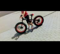Fat bike czerwony INDIANA SHIMANO Odbiór osobisty konin