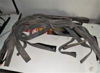 Skórzane osłony przewodu spawalniczego TIG MIG 1,5m