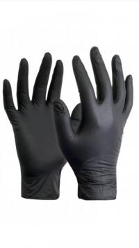 Rękawiczki nitrylowe i latexowe