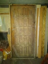 Drzwi zewnętrzne używane lewe 100cm