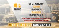 Żwirownia Konin Gołąbek -  ŻWIR KAMIEŃ ZIEMIA TRANSPORT