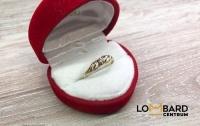Złoty pierścionek Próba 585 Waga 1,17g Rozmiar 14