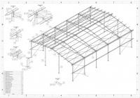 14x20 m. Konstrukcja stalowa hali hala nowa wiata magazyn