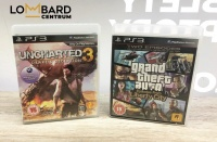 Gry na Ps3 Uncharted drake's deception 3  Grand theft auto
