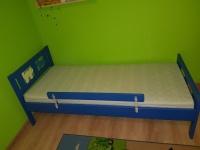 Sprzedam łóżko z materacem z Ikea. NOWA CENA!