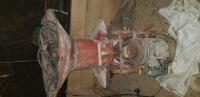 Śrutownik bąk z silnikiem