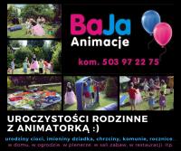 BaJa- Animacje animatorka Paulina wesela komunia urodziny ..