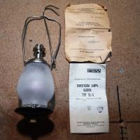 Turystyczna lampa gazowa GL-5, PREDOM TERMET, nieużywana