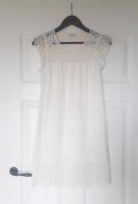 Zara sukienka biała koronka jak nowa