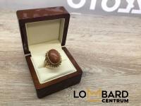 Cudowny złoty pierścionek  Próba 585 Rozmiar 20 Waga 7,40 gr
