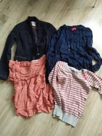 Paka ubrań -spodnie sukienki spódniczki swetry 34/36 XS S