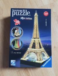Sprzedam puzzle Wieża Eiffla 3D