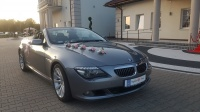 Auto do ŚLUBU BMW 6 cabrio kabriolet