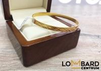 Złota bransoletka próby 585 Waga 6,42 gram LoMbard Centrum
