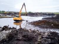 Usługi koparką i ładowarką - kopanie stawów, równanie terenu