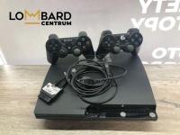 KONSOLA PS3  Komplet konsola pad oryginalny sony pad zamienn