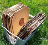 Płyty gramofonowe luzem i w opakowaniach zbędne odbiorę