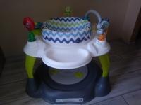 STOLIK EDUKACYJNY krzesełko z trampolina