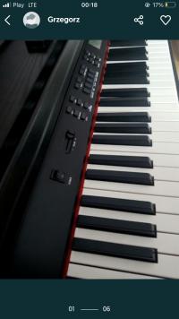 Sprzedam pianino cyfrowe firmy Schubert 88