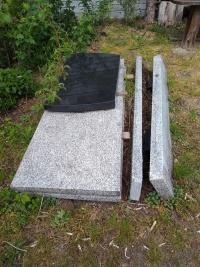 Płyty nagrobne z Granitu
