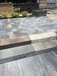 gotowy betonowy blok schodowy - 10 kolorów