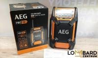 Radio budowlane AEG BR1218C komplet/gwarancja