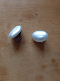 klipsy perły