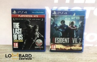 Gry na PS4 Resident Evil 2 The Last Of Us Remastered