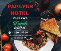 Lunch w Papaver Hotel