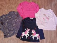 Bluzeczki dla dziewczynki rozmiar 116