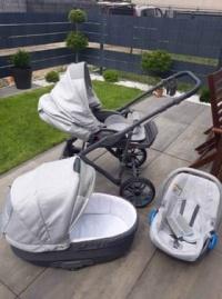 Sprzedam wózek Camarelo Veo 3w1
