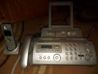 Telefon stacjonarny z faxem Panasonic KX-FC258