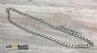 Piękny męski srebrny łańcuszek Próba 925 Waga: 70,25g Długoś
