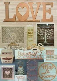 Drewniana Pracownia •dekoracje •drewniane• napisy• litery•