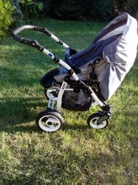 Wózek dziecięcy 3w1 + fotelik na rower