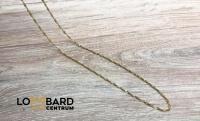Złoty łańcuszek próba 585  waga: 1,73g długość: 42 cm