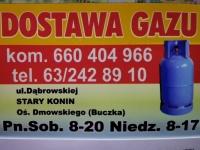 DOSTAWA GAZU , 660-404-966