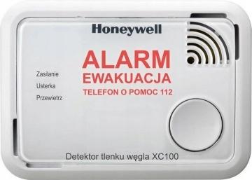 Czujnik Czadu Detektor Tlenku Węgla HONEYWELL XC100